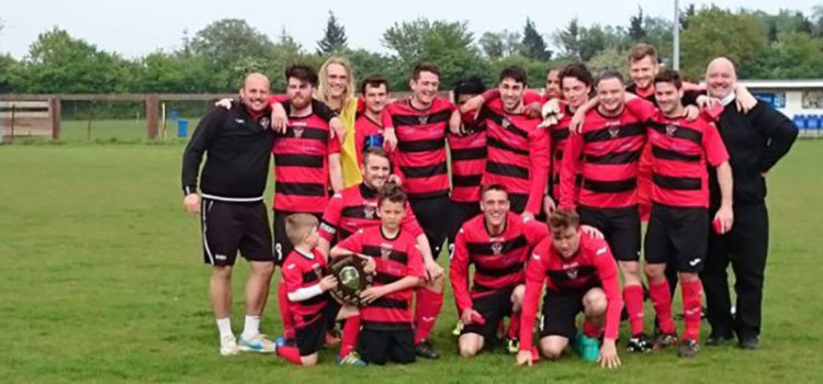 Sawbridgeworth Reserves FC ESL Reserves Shield Winners 2016-17
